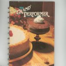 The Grand Performer Cookbook Knox Gelatine Unflavored Hard Cover