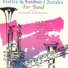 66 Festive & Famous Chorales For Band Flute by Frank Erickson