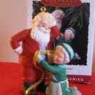Hallmark Keepsake A Fitting Moment Claus 1993 With Box