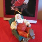 Hallmark Keepsake Relaxing Moment Coca Cola Santa 1994 With Box