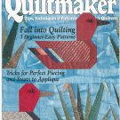 Quiltmaker Magazine September October 1997 Number 57  Patterns