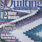 McCall's Quilting Magazine Back Issue February 1999 With Pattern Insert
