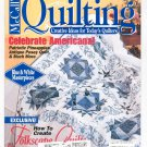 McCall's Quilting Magazine Back Issue August 1997 With Pattern Insert
