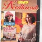 McCall's Needlework Magazine February 1994 With Pattern Insert