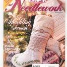 McCall's Needlework Magazine December 1995 With Pattern Insert
