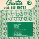 Easy Arrangements For The Guitar With Big Notes Number 2 John Lane