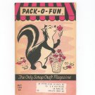 Pack O Fun Magazine May 1959 Vintage Skunk On Cover
