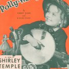 Polly Wolly Doodle by Clare & Sylva Sheet Music Vintage
