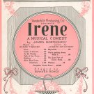 Irene by Tierney & McCarthy Sheet Music Vintage Alice Blue Gown