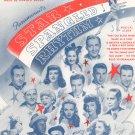 Hit The Road To Dreamland by Mercer & Arlen Sheet Music Vintage Star Spangled Rhythm
