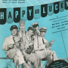 Murder He Says Happy Go Lucky by Loesser & McHugh Sheet Music Vintage