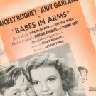 Good Morning Sheet Music Vintage Babes In Arms