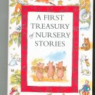 A First Treasury Of Nursery Stories by Mary Hoffman First Edition Hard Cover 0333765796
