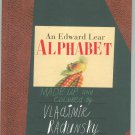 An Edward Lear Alphabet Hard Cover First Edition