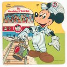 The Mouseketeers Train Ride Walt Disney Golden Shape Book