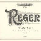 Reger Phantasie Op. 27 Edition Peters 4440