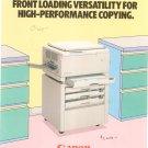 Canon NP 1215 Copy Machine Advertising Brochure