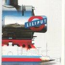 Liliput HO Model Train Catalog 1988
