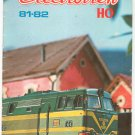 Electrotren HO Model Train Catalog 1981 1982