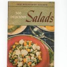 500 Delicious Salads Cookbook Vintage 1940 Berolzheimer Culinary Arts