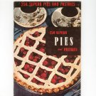 250 Superb Pies And Pastries Cookbook Vintage 1953 Berolzheimer Culinary Arts