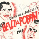 G'bye Now New Hellzapoppin Of 1941 Vintage Sheet Music