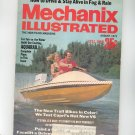 Mechanix Illustrated Magazine August 1972 Vintage Build Aquarail Boat Plans