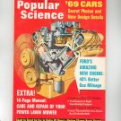 Popular Science Magazine July 1968 Vintage Ford's Amazing New Engine '69 Cars