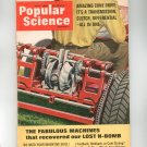 Popular Science Magazine June 1966 Vintage Amazing Cone Drive