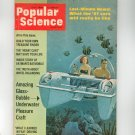 Popular Science Magazine July 1966 Vintage Amazing Glass Bubble Underwater Pleasure Craft