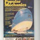 Popular Mechanics Magazine September 1974 Vintage Dirigibles To Come Back Bigger