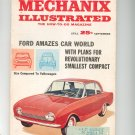 Mechanix Illustrated Magazine September 1961 Vintage Ford Amazes Car World Smallest Compact
