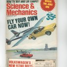 Science & Mechanics Magazine January 1971 Vintage Fly Your Own Car Now