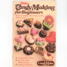 Wilton Candy Making For Beginners Cookbook With Order Form  1982