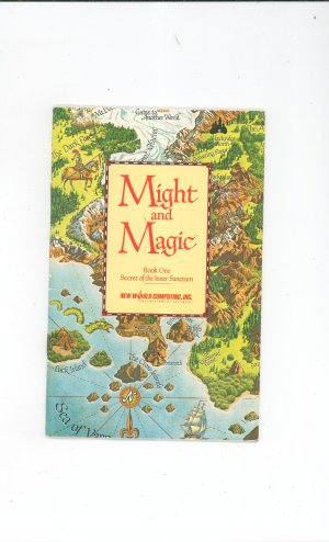Might And Magic Book One Secret Of The Inner Sanctum Manual Not PDF New  World Computing