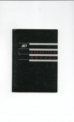 Jet Operating Manual Not PDF First Edition SubLogic