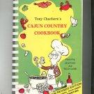 Tony Chachere's Cajun Country Cookbook Featuring Seafood & Wild Game 0960458018