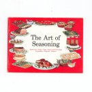 The Art Of Seasoning Cookbook Vintage Tobasco Pepper Sauce