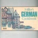Miller's German Cookbook by Fulton Miller 0911954228