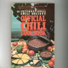 The International Chili Society Official Chili Cookbook Neely 0312419899