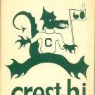 Crest Hi 1960 Year Book Yearbook Corfu East Pembroke High School Vintage New York