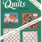 Lot Of 3 Quilts For Sale Magazine The American Quilter's Society 1987