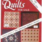 Lot Of 2 Quilts For Sale Magazine The American Quilter's Society 1985