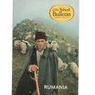 National Geographic School Bulletin January 1970 Rumania