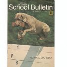 National Geographic School Bulletin September 1970 National Dog Week
