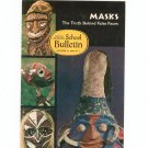 National Geographic School Bulletin October 1969 Masks The Truth Behind False Faces