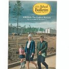 National Geographic School Bulletin December 1969 Siberia The Endless Horizon