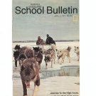 National Geographic School Bulletin April 1971 Journey To The High Arctic