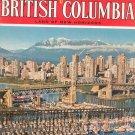 Beautiful British Columbia Land Of New Horizons Travel Guide Vintage Summer 1976