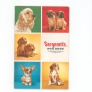 Vintage Sergeant's Dog Book Care Reference